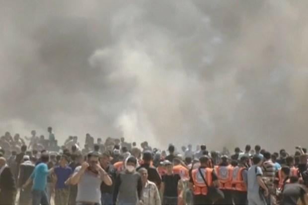 Oproer in de grensstreek van Gaza en Israël