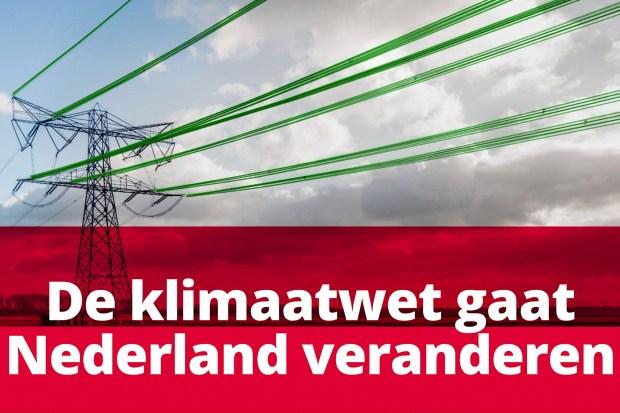 GroenLinks over de Klimaatwet