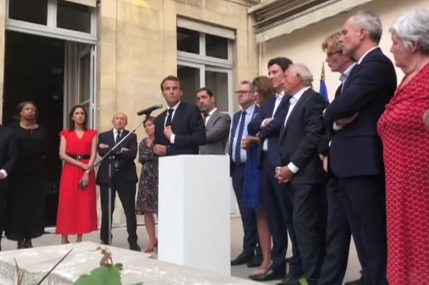 President Macron van Frankrijk.