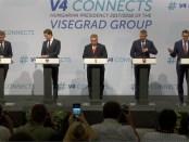 Conferentie Visegradlanden en Oostenrijk over migratie (28 juni 2018).
