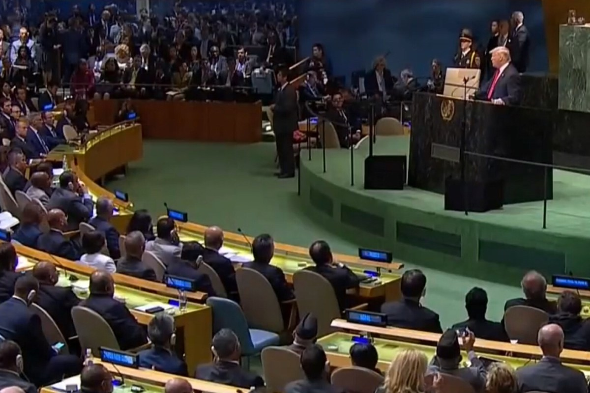 Toespraak Trump voor Algemene Vergadering VN