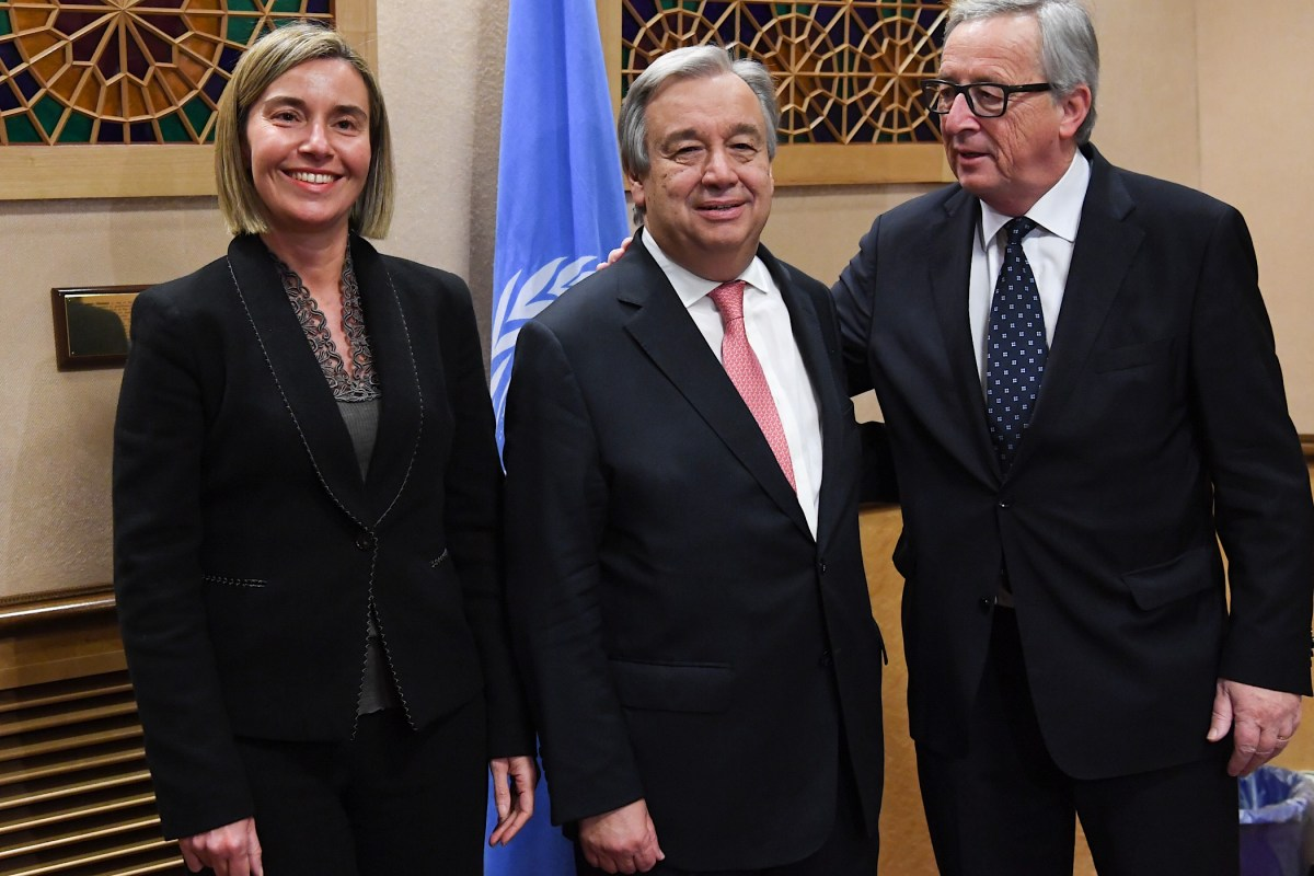 De vertwijfelde strijd van het linkse globalisme