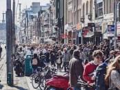 Amsterdams straatbeeld