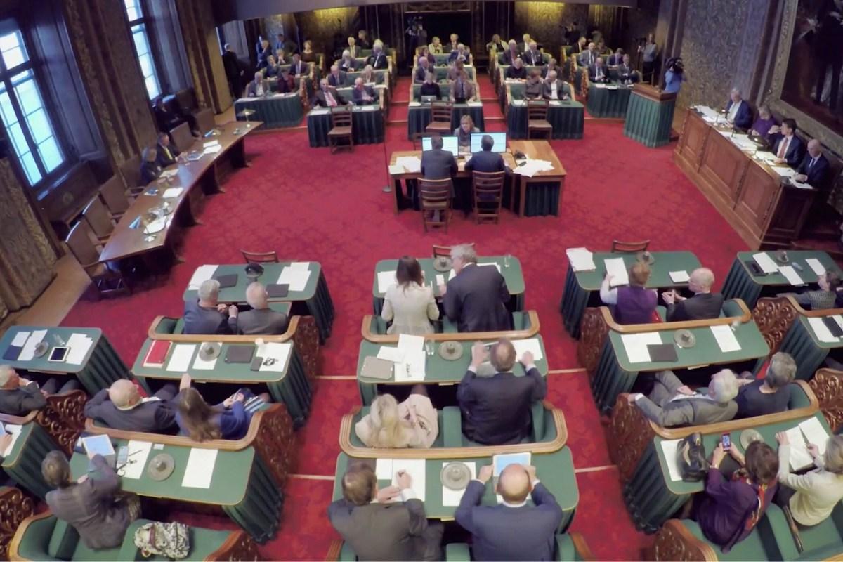 Eerste Kamer is exponent van de doorgedraaide particratie