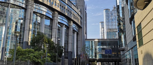 Europees parlement te Brussel