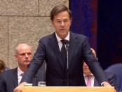 Mark Rutte bij de Algemene Beschouwingen 2018