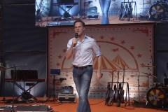 Mark Rutte op het VVD partijfestival