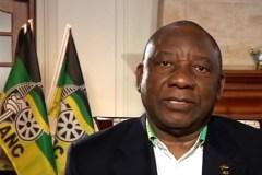 President Cyril Ramaphosa van Zuid-Afrika