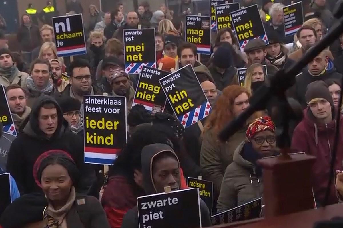 Anti-Zwarte Piet activisten KOZP klagen bij Justitie