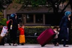 Syrische asielzoeksters in Nederland.
