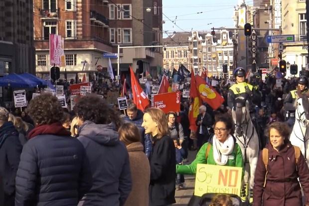 anti-Baudet demonstratie in Amsterdam (23 maart 2019)