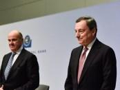 """Titelfoto artikel Johannes Vervloed op OpinieZ.com """"ECB-president Draghi kiest voor geldpers en negatieve rente"""""""