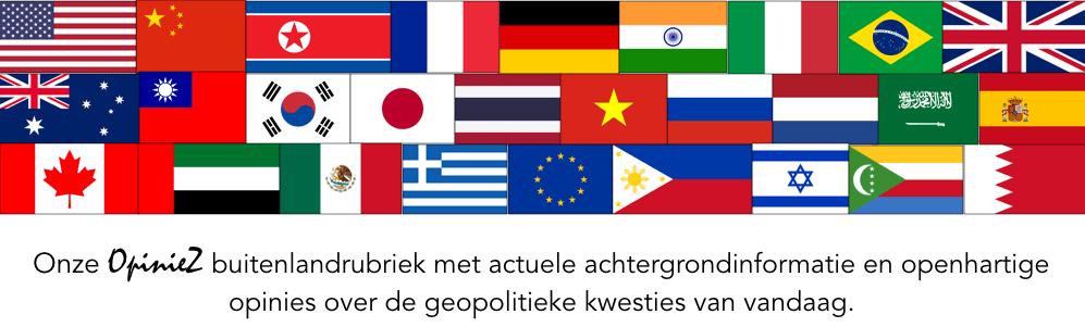 Buitenland banner (herstelde vlaggen)