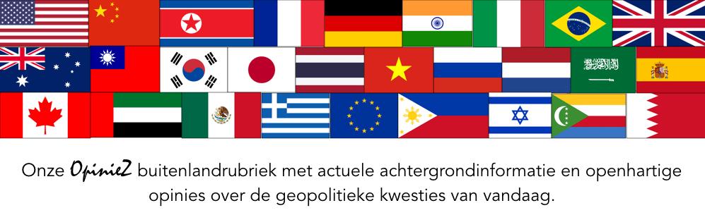 OpinieZ Buitenland banner vlaggen