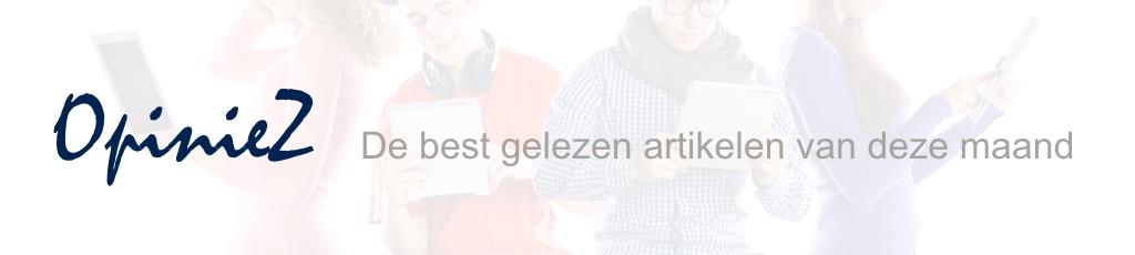 OpinieZ banner Best gelezen per maand V4