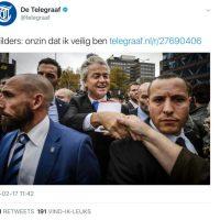 Wie weet waar Wilders woont?