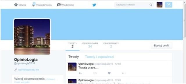 OpinoLogia naTwitterze