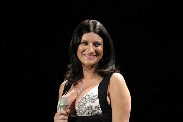 Laura Pausini śpiewa Gabera