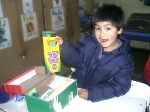 Donaciones escuela de F. AraucaníAprende