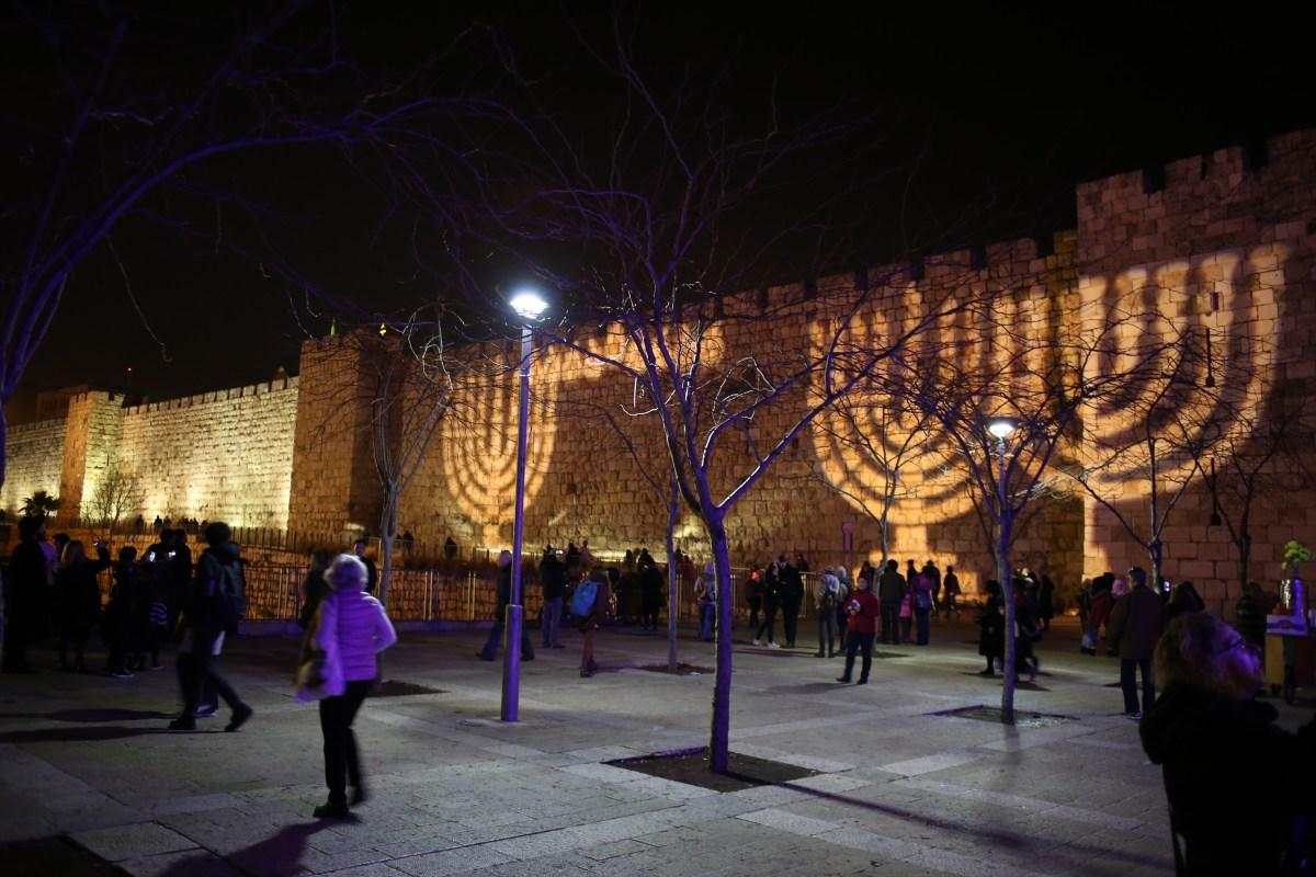 Jerusalem Celebrates Hanukkah