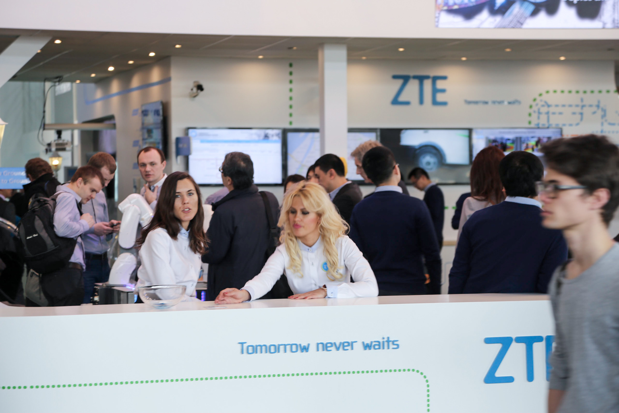ZTE's slogan: Tomorrow never waits. Probably tomorrow will not come for ZTE