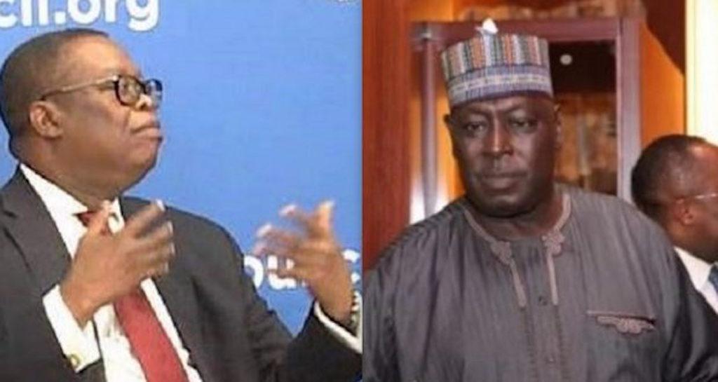 Ayodele Oke and Babachir Lawal