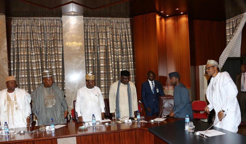 President Buhari and Governors