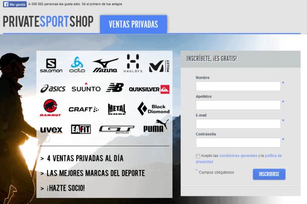 web ropa deportiva barata sport shop