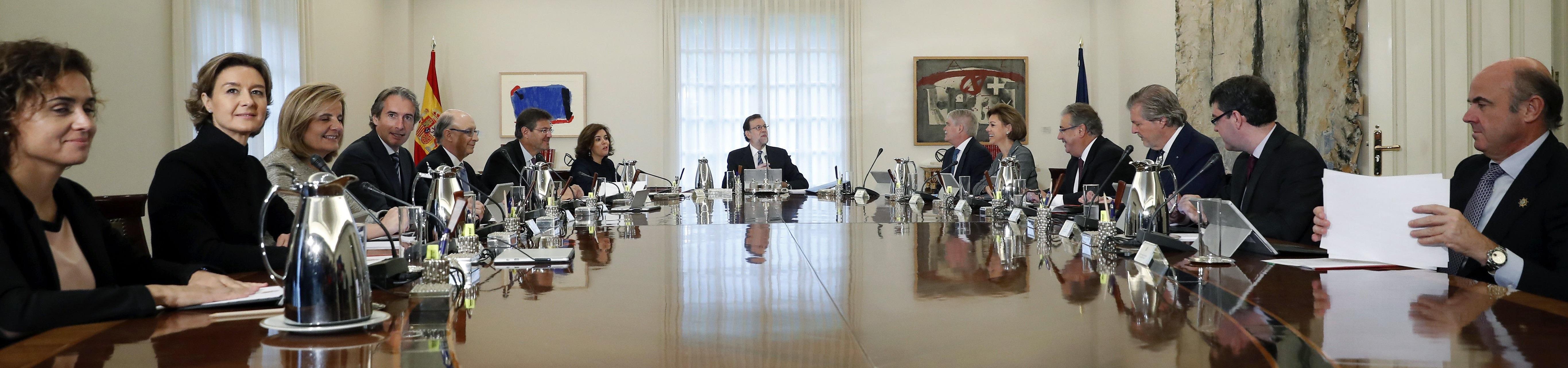 PRIMER CONSEJO DE MINISTROS DEL NUEVO GOBIERNO DE RAJOY
