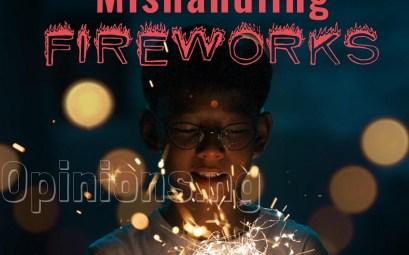 danger of mishandling fireworks