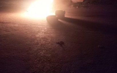 Bonfire in Lagos Unrest