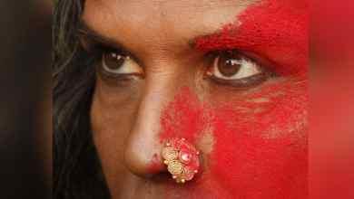 Photo of ফের সামনে এলো মিলিন্দ-এর পোস্ট, মুখ ভরতি সিঁদুর মিলিন্দ
