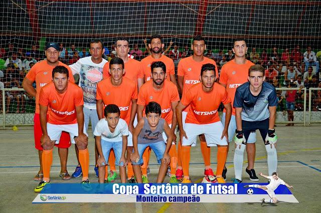 VIP_9170 Monteirense é campeão da Copa Sertânia de Futsal