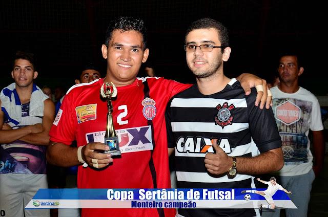 VIP_9250 Monteirense é campeão da Copa Sertânia de Futsal