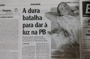 JP destaca luta de serrabranquense que percorreu mais de 100 KM para poder dar à luz 5