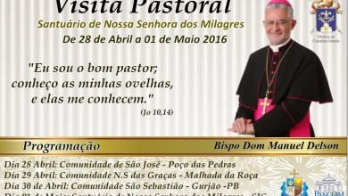 Dom Manuel Delson visitará Santuário de Nossa Sra. dos Milagres 5