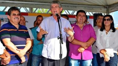 Célio Barbosa inaugura rodovia ao lado de Ricardo Coutinho e Adriano Galdino 7