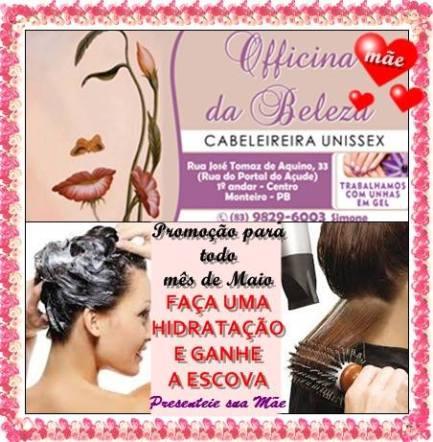 13183067_1130279600326182_620177145_n Grande promoção na Officina da Beleza em Monteiro;Confira