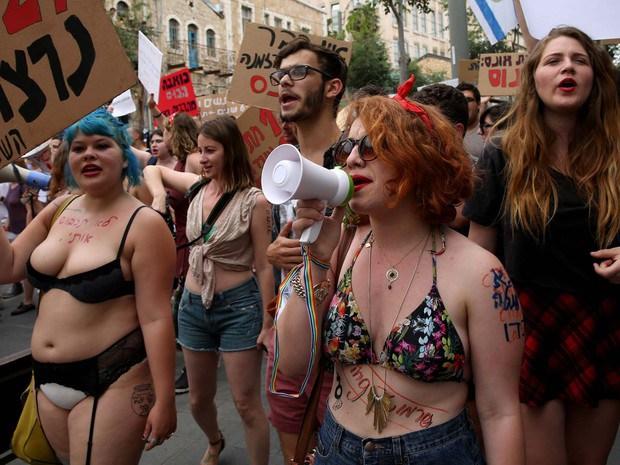 jeruslaem2 Marcha das Putas' denuncia violência de gênero em Jerusalém