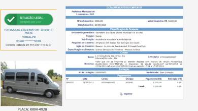 Vereador denuncia locação de carro fantasma em livramento 3