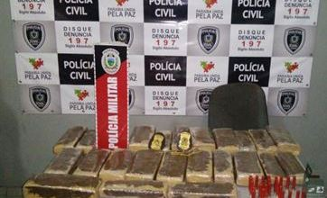 Polícia prende 4 suspeitos e apreende maconha avaliada em R$ 100 mil, na Paraíba 6