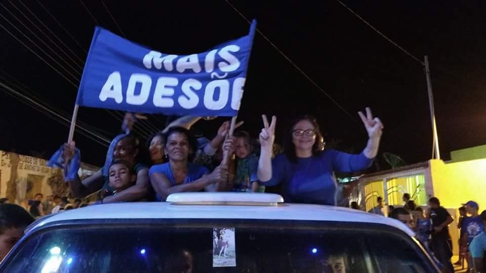 34dfee39-f21c-4ff8-8fee-f87b3d6eaf22 Em Livramento: Carmelita Ventura continua ampliando seu grupo rumo à reeleição