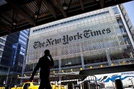 13226214 'New York Times' investirá US$ 5 milhões para cobrir governo Trump