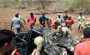 Acidente na Paraíba mata criança e deixa cinco feridos, todos da mesma família 5