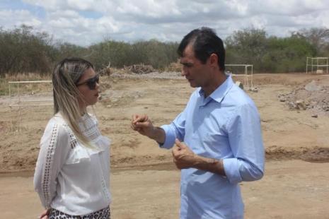 19012017225718 Romero Rodrigues se encontra com o ministro Helder Barbalho e fecha parceria com prefeita de Monteiro