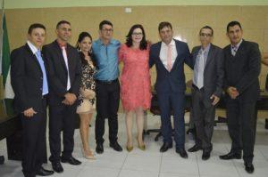 carmelita_posse-300x199 Prefeita de Livramento toma posse e vereador Aliomar é eleito novo presidente da Câmara