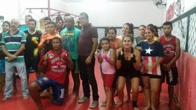 cileno Vice Prefeito visita atletas do Muay Thay e confirma ida à Federação Paraibana de Futebol