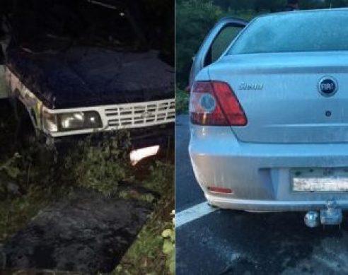 Carro-sertão-da-Paraíba-310x245 Acidente com dois carros deixa um morto e nove feridos no Sertão paraibano