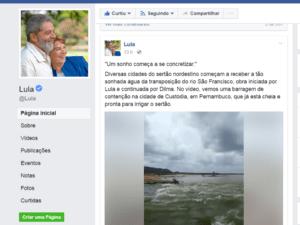 lula-300x225 Vídeo feito por vereador Monteirense repercute na Página do ex-presidente Lula