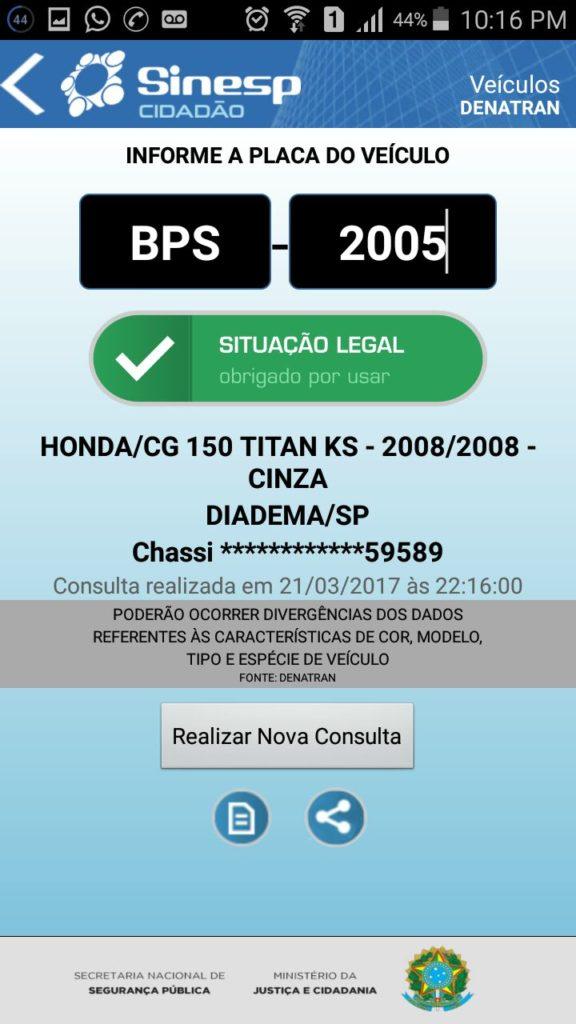 sinesp-br-576x1024 Exclusivo: Jovem tem moto furtada no clube municipal em Monteiro